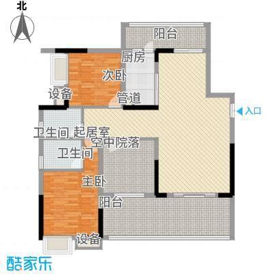 南坪苑户型图户型图2室 2室2厅2卫1厨