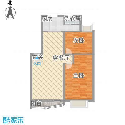 红谷春天125.05㎡B3-1F型户型3室3厅2卫1厨