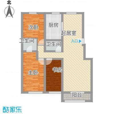 丰和小区104.00㎡丰和小区3室户型3室