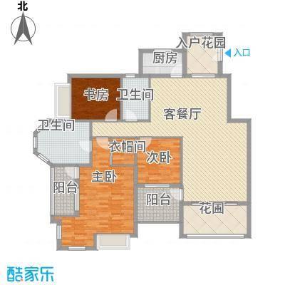 洪客隆地中海阳光149.84㎡LB户型三房两厅两卫偶数层149.84-151.02㎡户型3室2厅2卫1厨