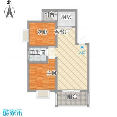 京东小区F区100.00㎡京东小区F区3室户型3室