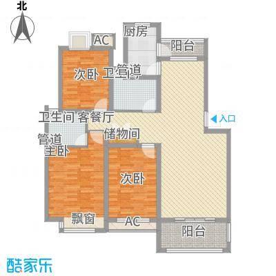 京东小区E区91.00㎡京东小区E区2室户型2室