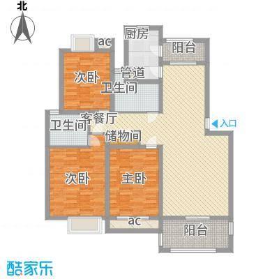京东小区F区98.00㎡京东小区F区3室户型3室