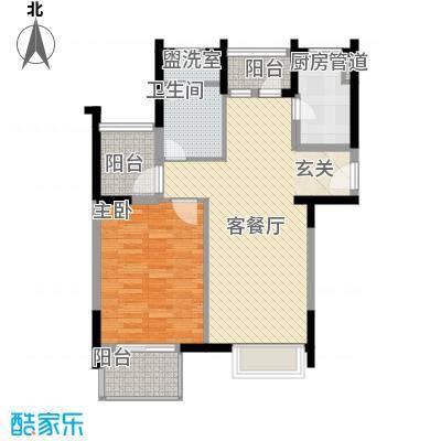 世纪中央城92.00㎡世纪中央城92.00㎡2室户型2室