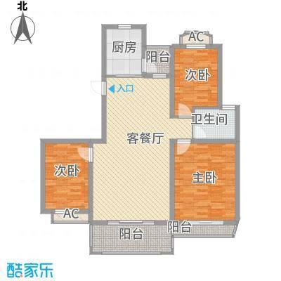 万科外国语学校宿舍130.00㎡万科外国语学校宿舍3室户型3室