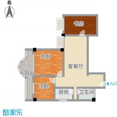 江山大厦142.00㎡江山大厦3室户型3室