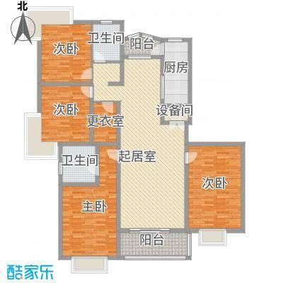 长江花园192.00㎡长江花园4室户型4室