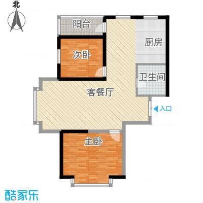高新二路物业宿舍99.00㎡高新二路物业宿舍2室户型2室