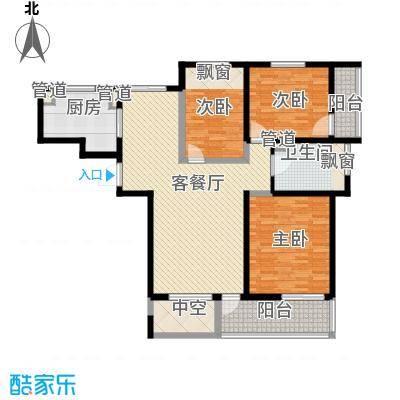 高新二路物业宿舍154.00㎡高新二路物业宿舍3室户型3室