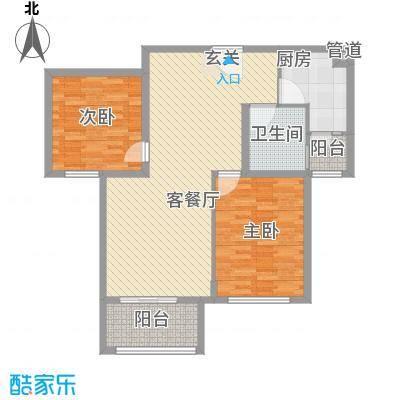 高新艾湖小区123.00㎡高新艾湖小区2室户型2室