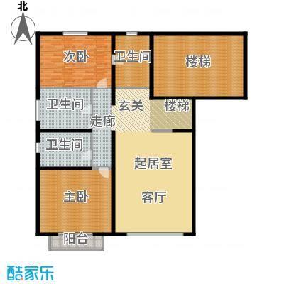 富泉花园公寓215.52㎡富泉花园公寓户型图罗马园F1-3跃层-12室1厅2卫1厨户型2室1厅2卫1厨