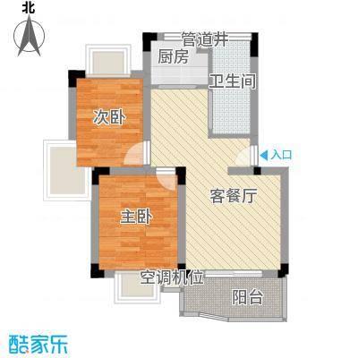 阳光枫情64.00㎡1室