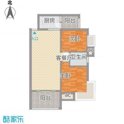 京东小区F区98.00㎡京东小区F区2室户型2室