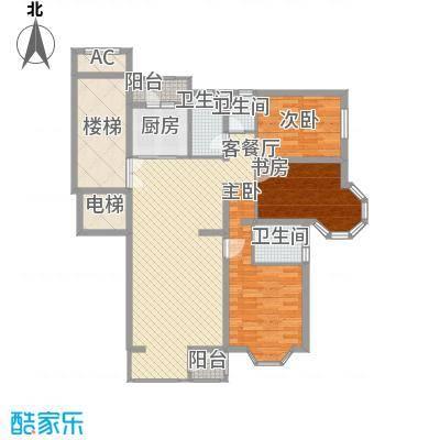 大宁山庄别墅(大宁湾)戊区A2户型3室2厅2卫1厨