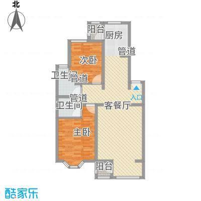 大宁山庄别墅A丁区2-4层户型2室2厅2卫1厨
