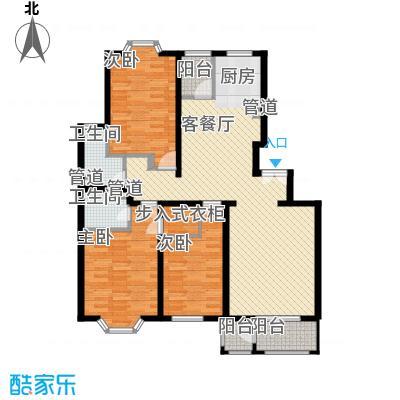 大宁山庄别墅(大宁湾)丁区D1户型3室2厅2卫1厨