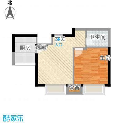 华鑫福邸华鑫福邸户型图200807190850561231室1厅1卫1厨户型1室1厅1卫1厨