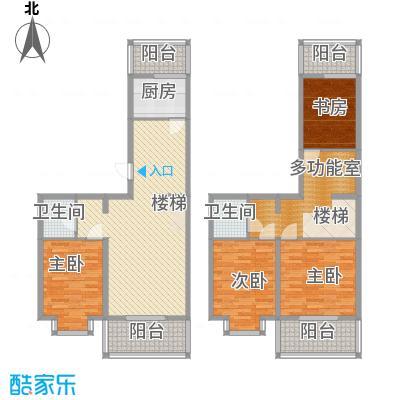 天泰新景温泉小区169.30㎡复式户型4室2厅2卫1厨
