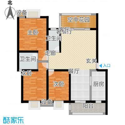 翰林苑小区翰林苑小区户型图20060523173426-03室2厅1卫1厨户型3室2厅1卫1厨