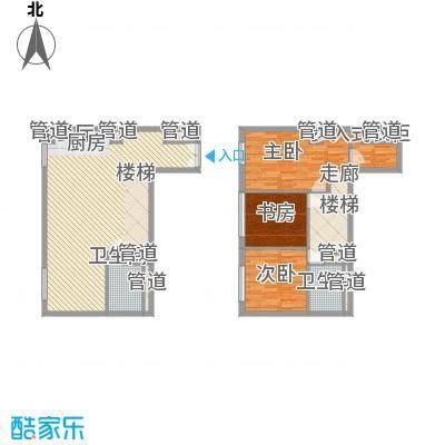 北京ONE240.00㎡1号楼C户型3室2厅2卫1厨