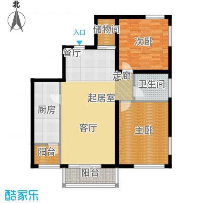 新龙城三期100.00㎡新龙城三期户型图户型图2室2厅1卫1厨户型2室2厅1卫1厨