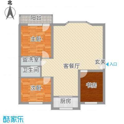 水泥机械厂宿舍109.00㎡水泥机械厂宿舍3室户型3室