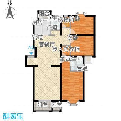 大宁山庄别墅(大宁湾)丁区D2户型3室2厅2卫1厨