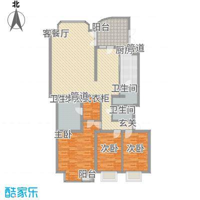 宁馨苑宁馨苑户型图C户型3室2厅2卫1厨户型3室2厅2卫1厨