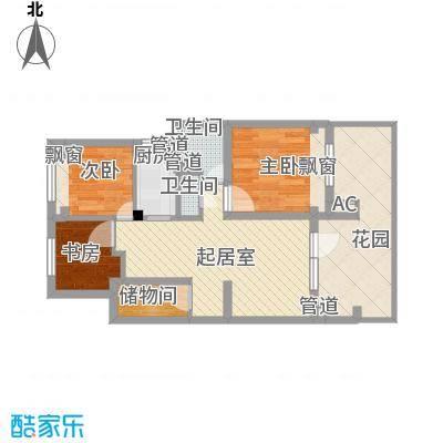 朗诗未来树82.00㎡朗诗未来树户型图82平户型图3室2厅1卫1厨户型3室2厅1卫1厨