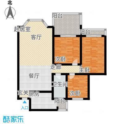 曙馨苑121.29㎡曙馨苑121.29㎡1室户型1室