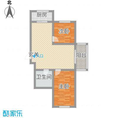 金丰紫馨花园80.00㎡10室