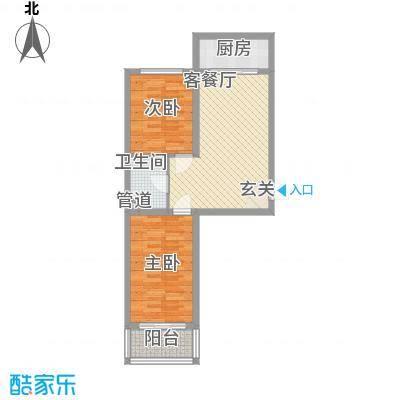 金丰紫馨花园75.00㎡10室