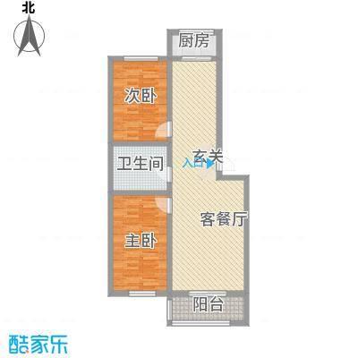 金丰紫馨花园95.00㎡10室