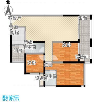 中德英伦联邦89.00㎡B区16、17、18号楼S户型3室2厅2卫1厨