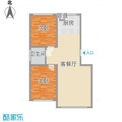 香山景园香山景园2室户型2室