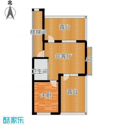 筑石居易户型d+户型4室3厅2卫1厨