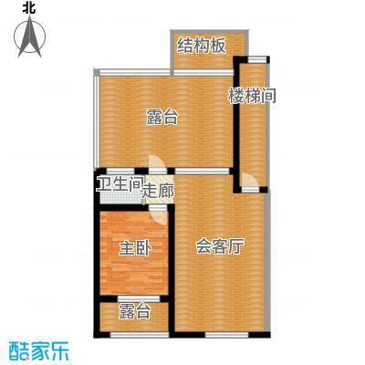 筑石居易户型f+户型3室3厅2卫1厨