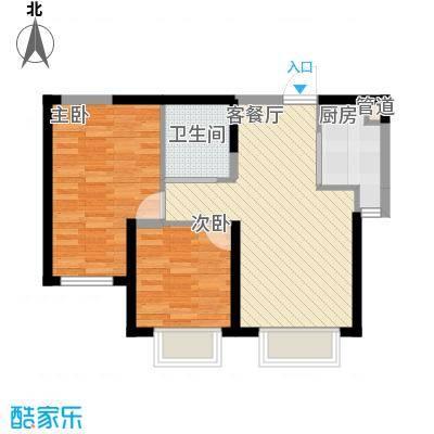 渤海山水云天渤海山水云天2室户型2室