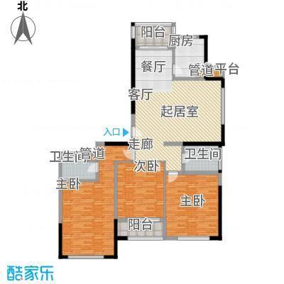 新天地公寓150.28㎡新天地公寓150.28㎡3室2厅2卫1厨户型3室2厅2卫1厨