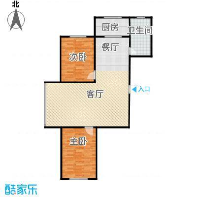 嘉寓观山119.84㎡D17-19-7户型2室1厅1卫1厨