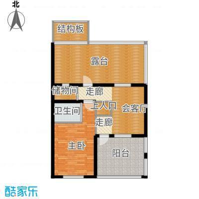 筑石居易户型b+户型4室3厅3卫1厨