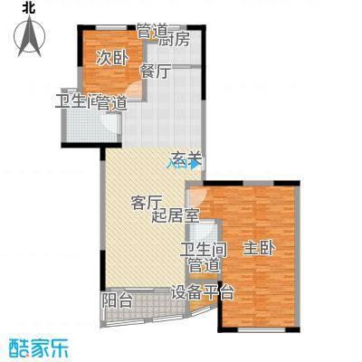 新天地公寓144.25㎡新天地公寓144.25㎡2室2厅1卫4厨户型2室2厅1卫4厨