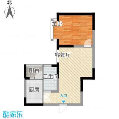 国际花园49.96㎡国际花园户型图户型图1室2厅1卫1厨户型1室2厅1卫1厨
