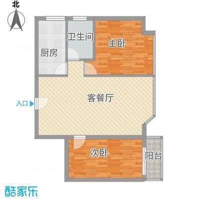 瑞升花园83.96㎡瑞升花园户型图户型图2室2厅1卫1厨户型2室2厅1卫1厨