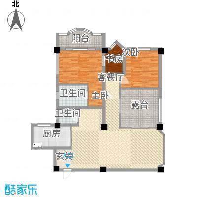 风华苑155.61㎡风华苑户型图户型图3室2厅2卫1厨户型3室2厅2卫1厨