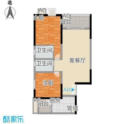 金控时代广场108.78㎡金控时代广场108.78㎡10室户型10室