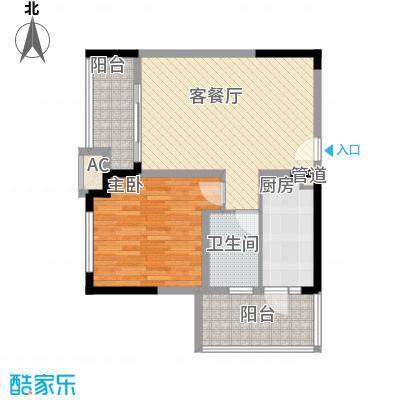 金控时代广场72.49㎡金控时代广场72.49㎡10室户型10室