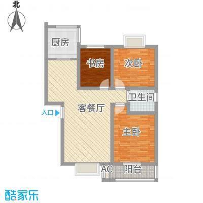 丹桂苑103.61㎡丹桂苑户型10室