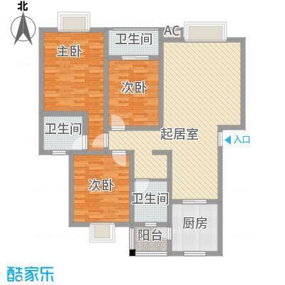 丹桂苑119.99㎡丹桂苑户型10室