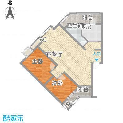 丹桂苑95.45㎡丹桂苑户型10室